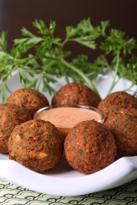 Spicy Fava Bean Falafel