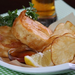 Faux Fish and Real Chips