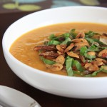 Spicy Pumpkin Soup with Lemongrass and Coconut Milk