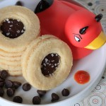 Chocolate-Sriracha Shortbread Cookies