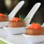 Molecular Vegan: Scallops with Carrot-Ginger Caviar