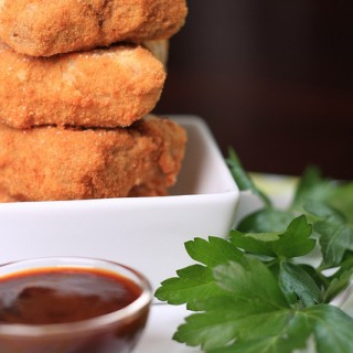 Spiced Taro Root Croquettes