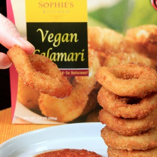 Vegan Calamari from Sophie's Kitchen