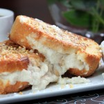 Ricotta-Stuffed French Toast with Salted Butterscotch Sauce