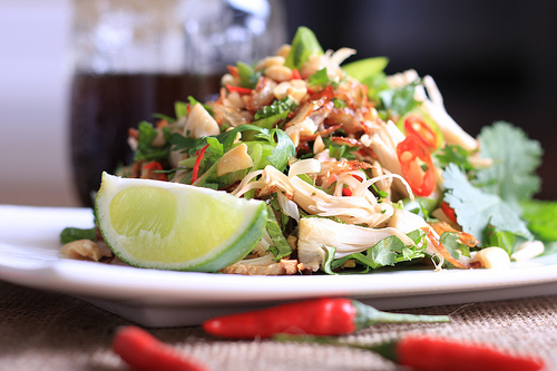 Spicy Jackfruit Salad
