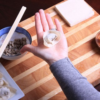 How to Fold a Wonton Dumpling