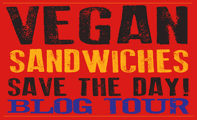 Vegan Sandwiches Save the Day! blog tour