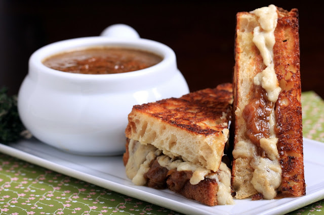 Four Vegan Grilled Cheese Sandwiches