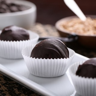 German Chocolate Cake Frosting Truffles