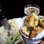Beer-Battered Cauliflower