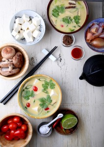 Quick and Easy Fragrant Coconut Soup