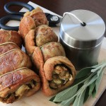 Seitan Roulade with Sweet Onion Stuffing