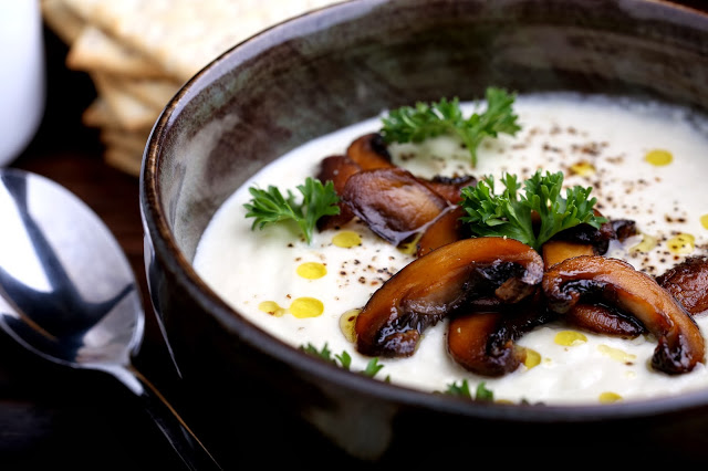 Cauliflower and Cashew Cream Soup