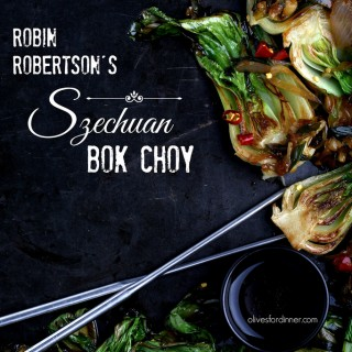 Szechuan Bok Choy from Vegan Without Borders by Robin Robertson