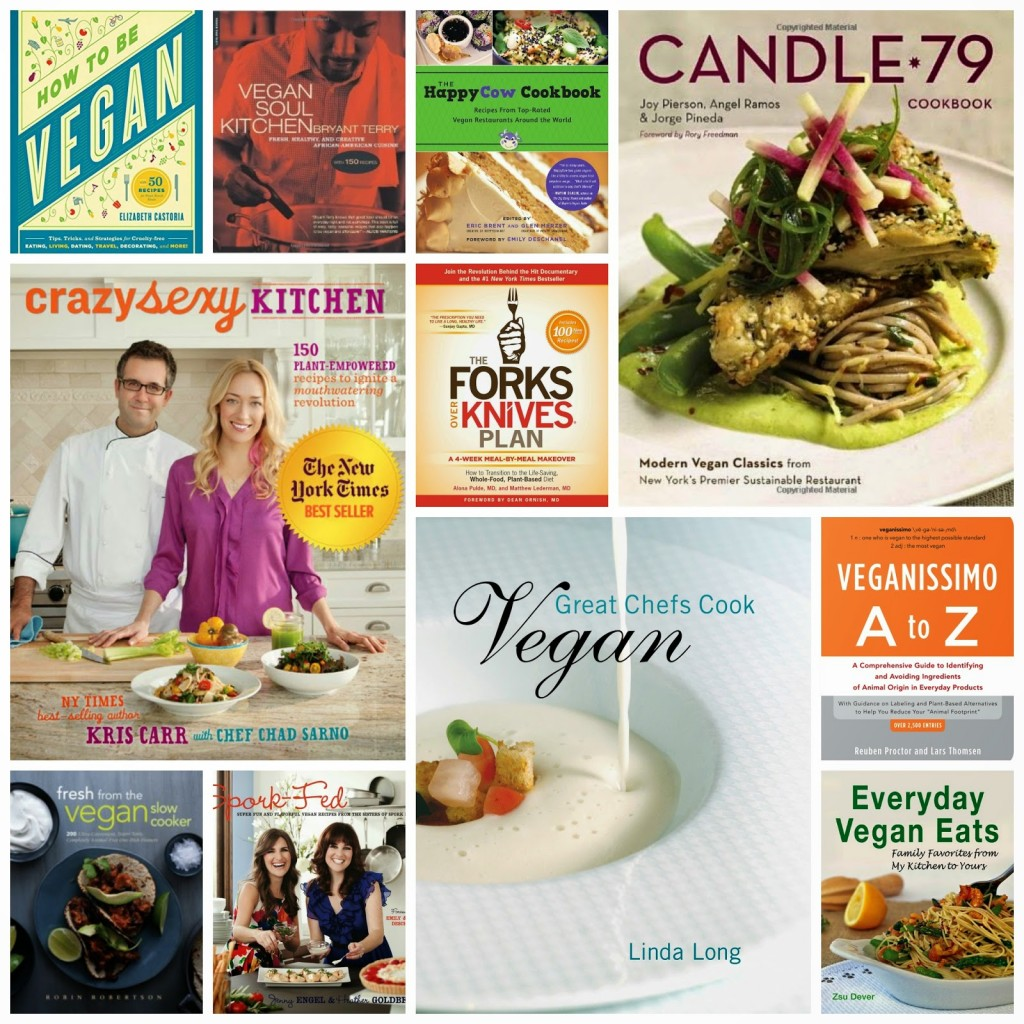 Vegan Cookbooks galore!
