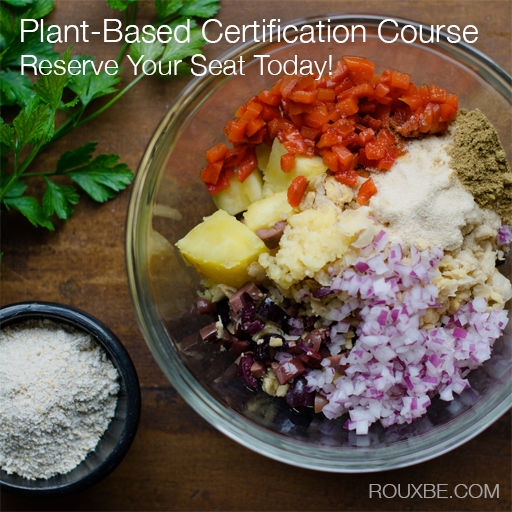 Rouxbe's Online Plant-Based Professional Certification Course