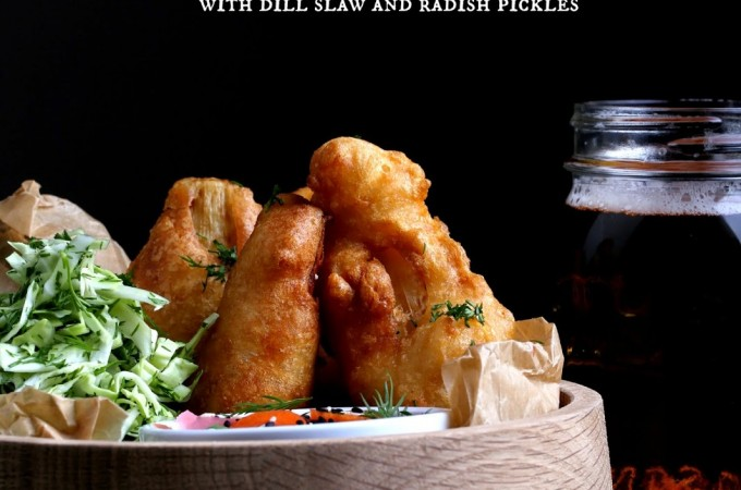 Beer-Battered Hearts of Palm