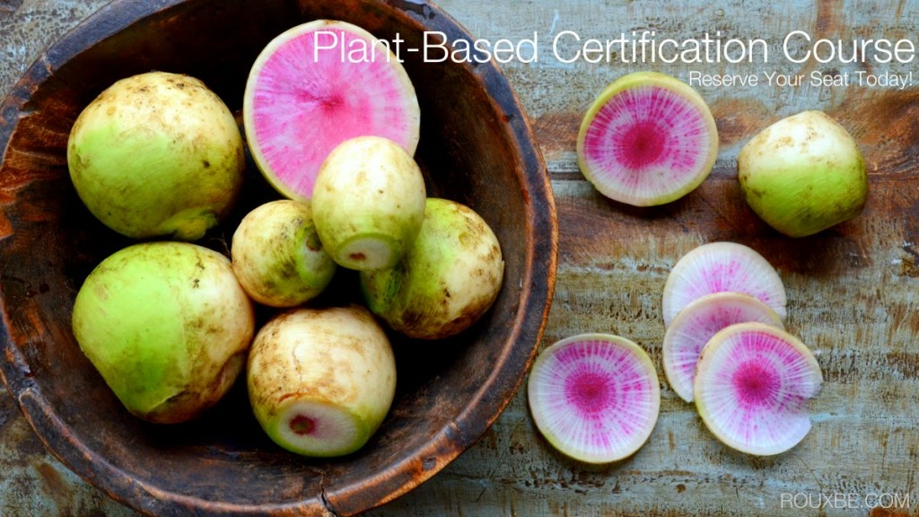 Rouxbe's Plant-Based Professional Online Certification Course