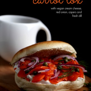 carrot lox bagel