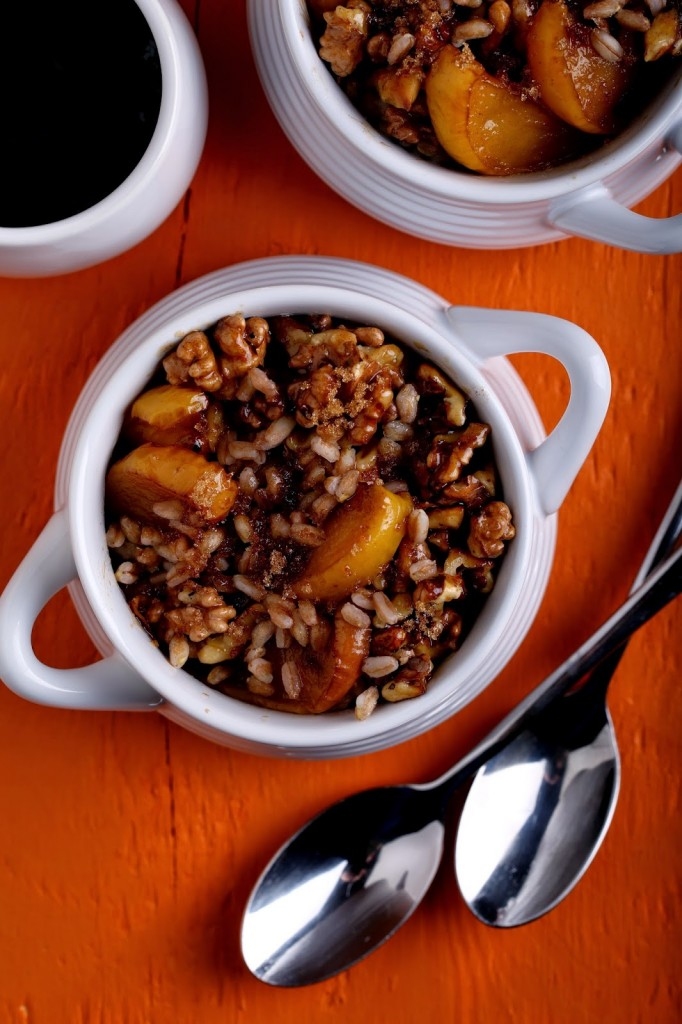 Apple Pie Breakfast Farro