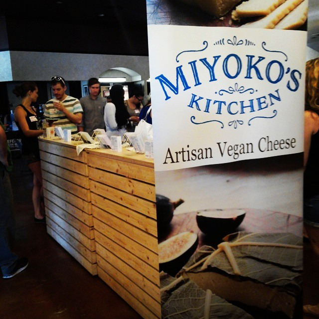 Miyoko's Vegan Cheese display
