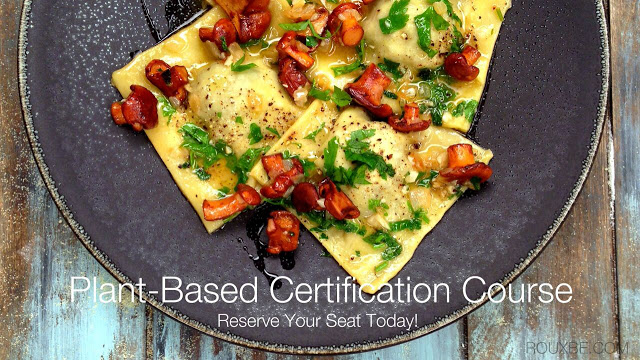 Rouxbe's Plant-Based Professional Certification Course
