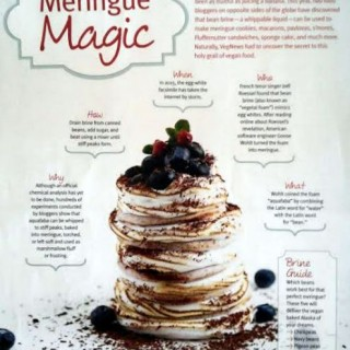 VegNews - Meringue Magic