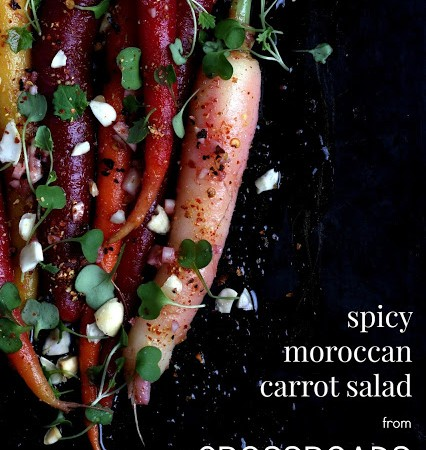 CROSSROADS Spicy Moroccan Carrot Salad