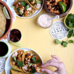 roasted cauliflower tacos with chipotle cream from the love and lemons cookbook