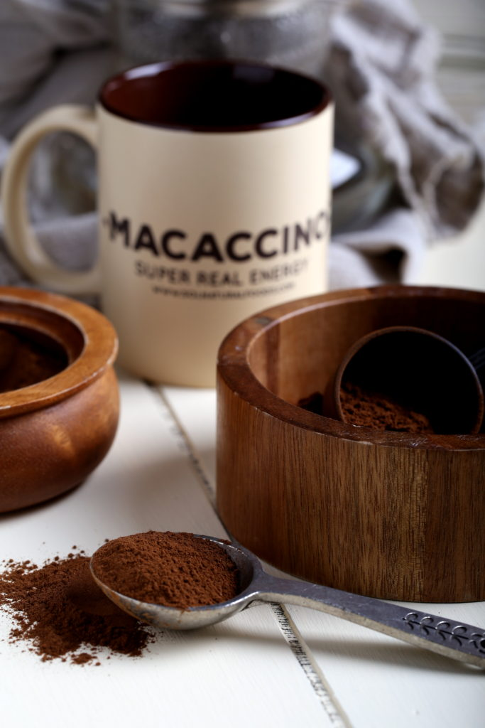 Macaccino Review + Giveaway on Olives for Dinner!