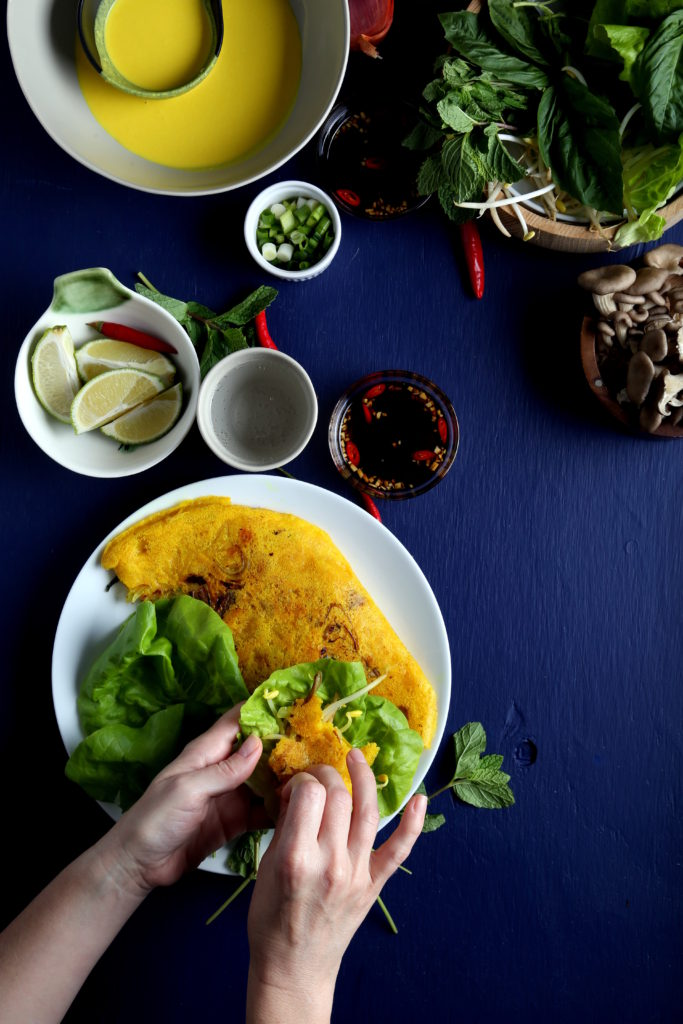 Savory + Crispy Vietnamese Crepes