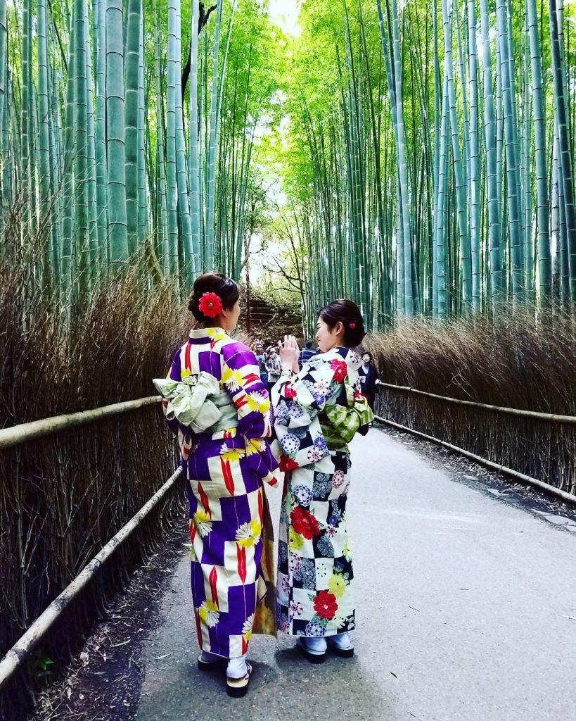 Bamboo Grove + Kimonos