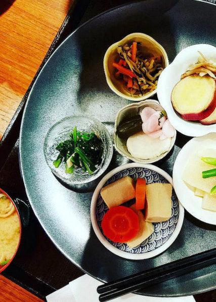 Vegan Breakfast in Kyoto Japan