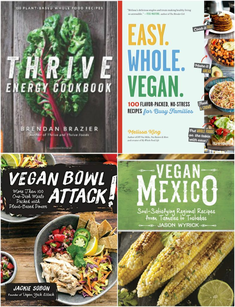 Vegan Cookbook collage