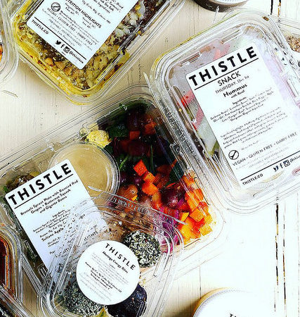 Thistle Vegan Meal Delivery Service