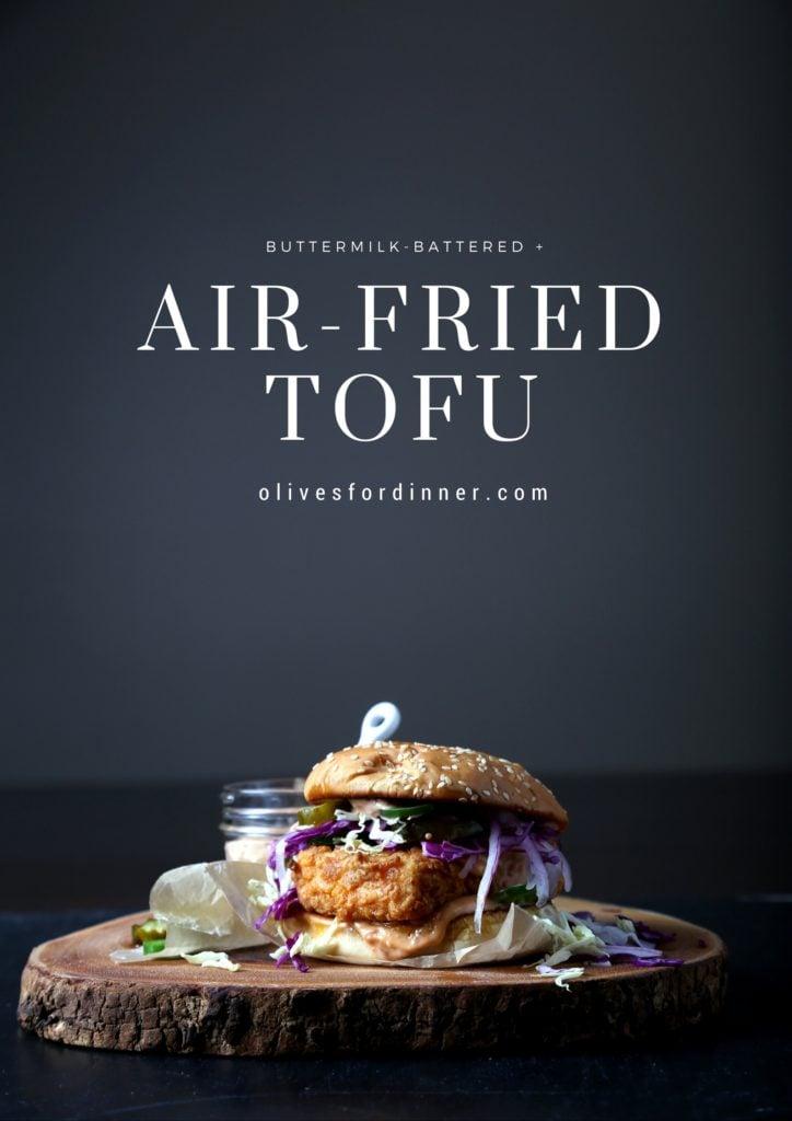 Air-Fried + Buttermilk-Battered Tofu