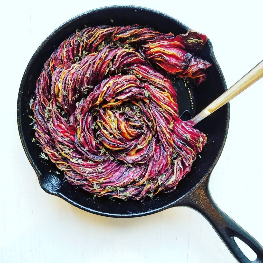 Roasted Balsamic Beets + Rutabaga
