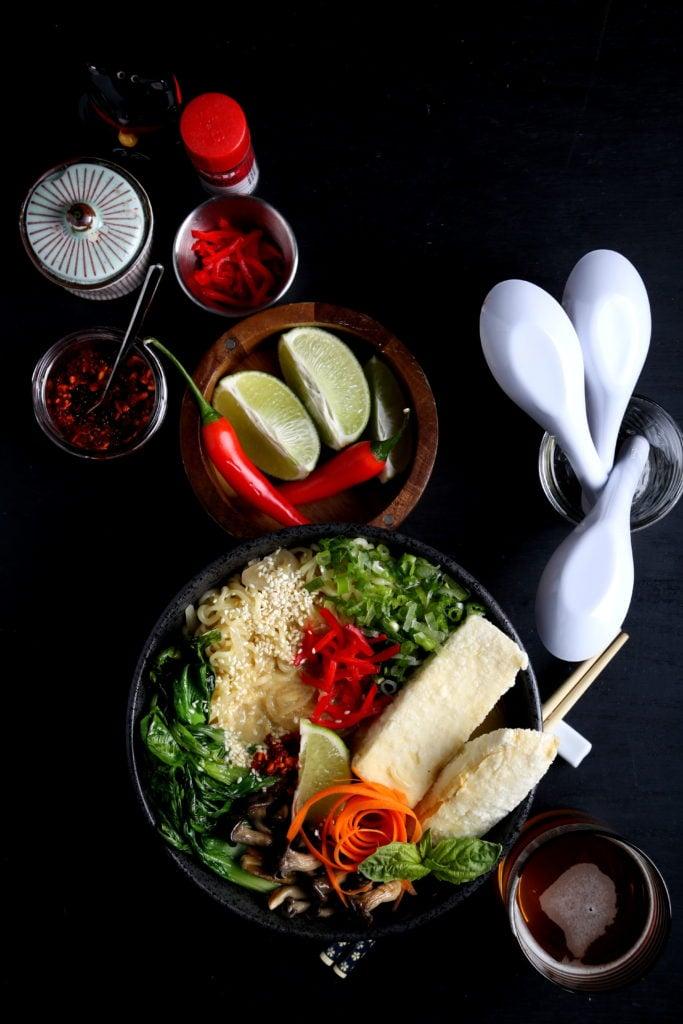 Vegan Ramen | Olives for Dinner