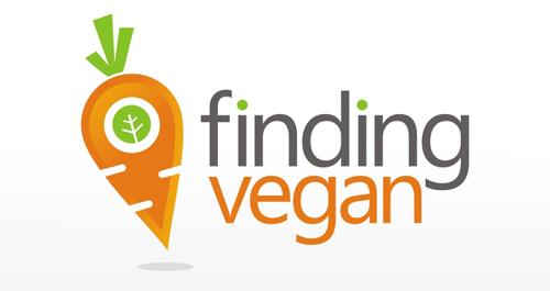Finding Vegan logo