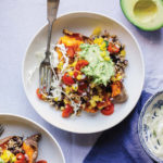 Burrito Stuffed Sweet Potatoes