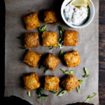 Deep-Fried Carrot Lox Ravioli