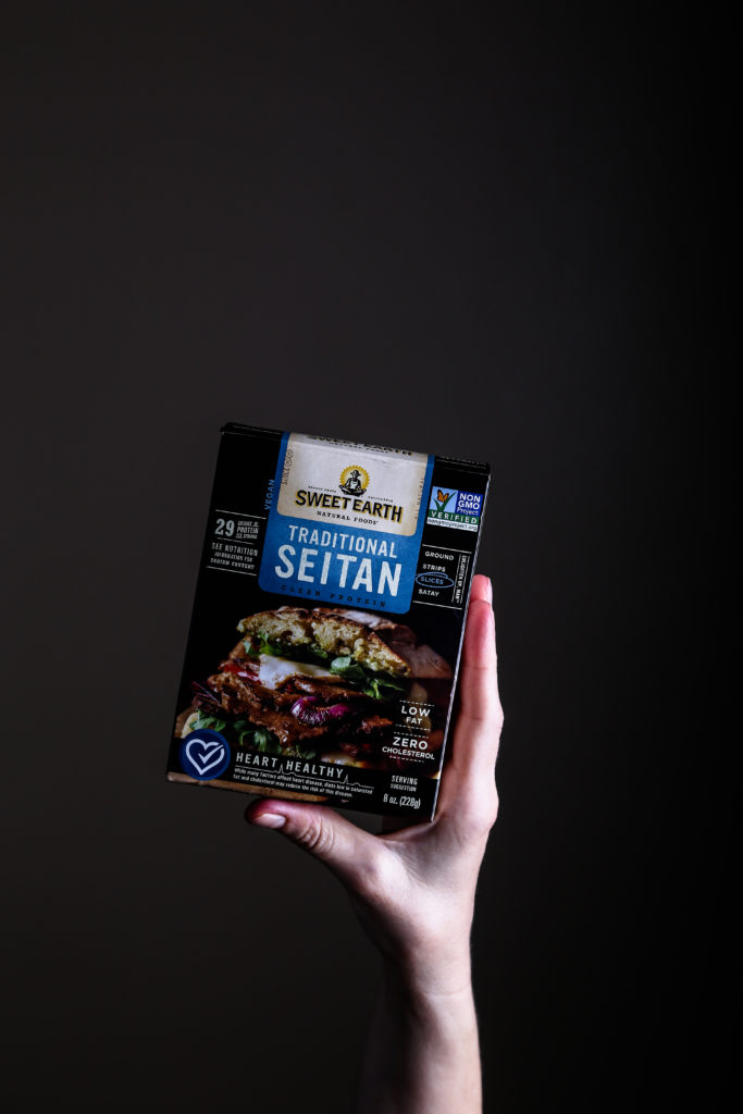 Sweet Earth Natural Food Traditional Seitan Slices
