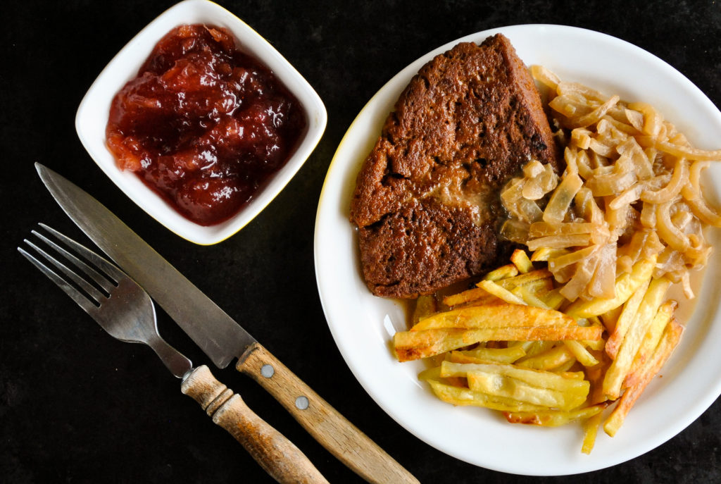 Homemade vegan seitan steak | by Sandra Vungi