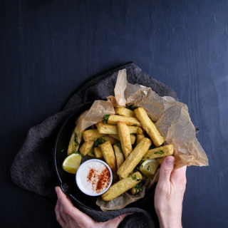 Olives for Dinner - Chickpea Fries