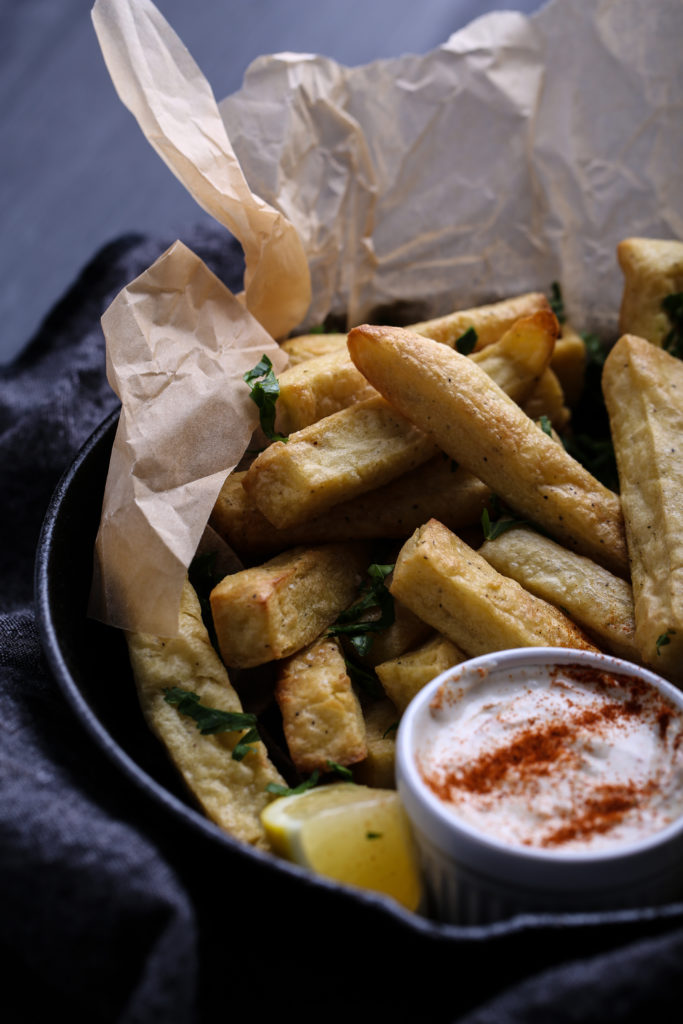 Chickpea Fries - Olives for Dinner