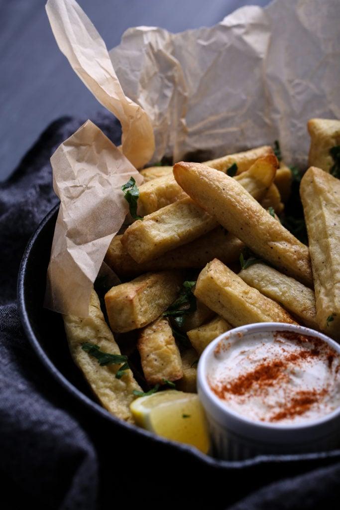 Chickpea Fries - Olives for Dinner