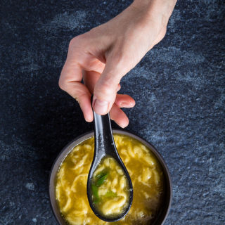 Vegan Egg Drop Soup