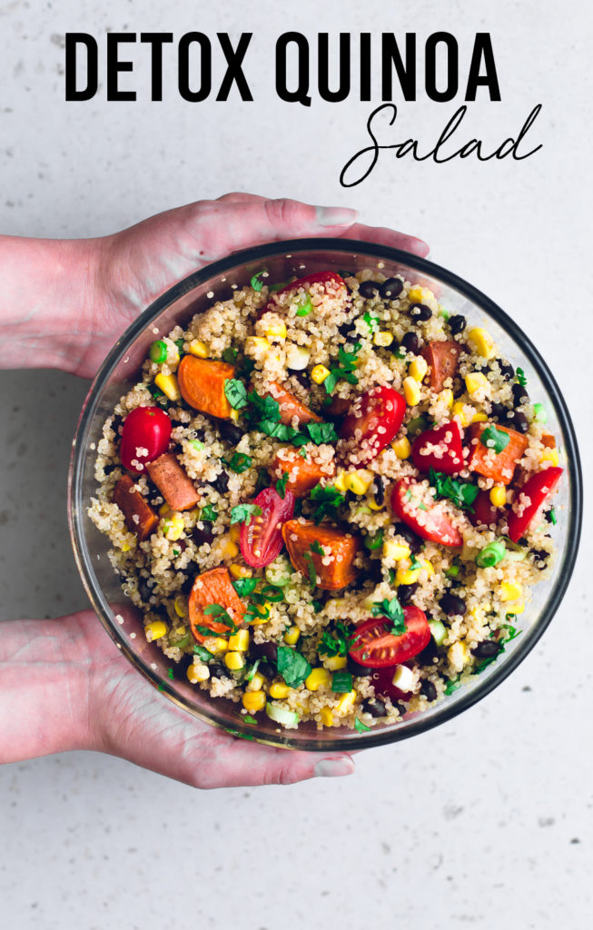Detox Quinoa Salad by Crazy Vegan Kitchen
