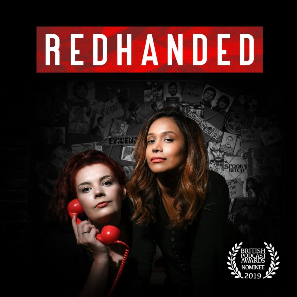 Cover art for Redhanded Podcast