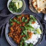 Cauliflower and Mushroom Curry